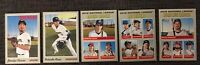 2019 Topps Heritage Milwaukee Brewers Master Team Set 24 Cards SP & Inserts