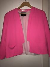 Pink River Island Blazer Uk 16