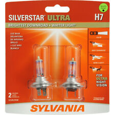 SYLVANIA H7 SilverStar Ultra High Performance Halogen Headlight Bulb, 2 Bulbs