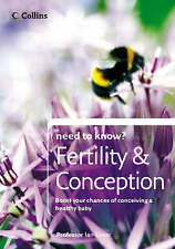 Fertility and Conception (Need to Know?), Greer, Professor Ian, New Book