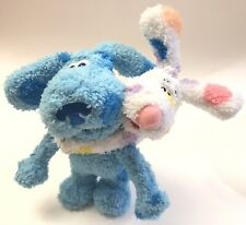 Rare 2006 Blues Clues Plush Soft Toy Blue & Sprinkles Puppy Magnetic Paws Mattel