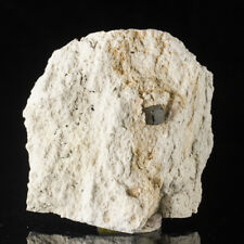 "3.3"" SharpMetallic 8.5mm BIXBYITE Crystal in White Rhyolite Matrix Utah for sale"