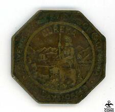1930s So-Called Dollar Eureka Days of '49 Octagonal 1850 rev (Pointed 4) J-630