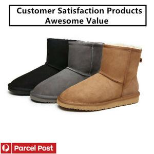 UGG Classic Water-Resistant Unisex Mini-short Boots Premium Australian Sheepskin