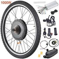 "26""1000W Rear Wheel 48V Electric Bicycle Bike Motor Conversion Kit Hub Cycling"