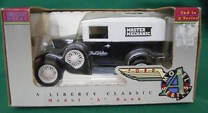 """FORD MODEL """"A"""" DELIVERY VAN BANK 1:25 SCALE NEW IN BOX"""