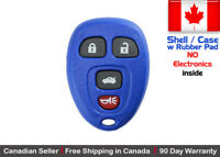 1x Blue Replacement Keyless Remote Key Fob For Chevy Buick Pontiac - Shell Case