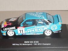 BTCC CHAMPION CARS,BMW M3 (E30) WILL HOY (VL MOTORSPORT) 1991BTCC. MAG HR02