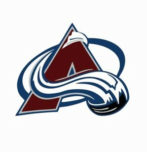 Colorado Avalanche NHL Hockey Full Color Logo Sports Decal Sticker-Free Shipping