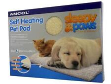 ANCOL SLEEPY PAWS SELF HEATING PET PAD DOG CAT WARM SOFT SHEEPSKIN BED RUG S M L