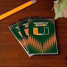 BLOCCO NOTE Ufficiale UNIVERSITY of MIAMI Florida STATI UNITI scuola università