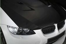 2x125*30CM 3D fibra De Carbono Car Wrapping Foil Coche pegatina del motor Negro