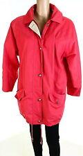 Cotton Blend Raincoat Vintage Coats & Jackets for Women