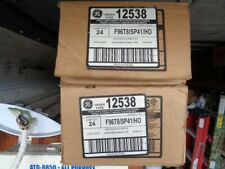 New listing Lot of 48 Ge 8' High output T8 replacement lamps, F96T8/Sp41Ho, 2 Full cases