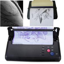 New Pro Black Tattoo Transfer Copier Printer Machine Thermal Stencil Paper Maker
