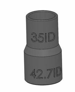 35mm Karcher hose 35ID to 42.7ID Dewalt palm sander DWE6423 adapter