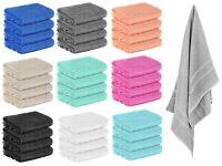 8er Pack FROTTEE Gästehandtücher 30 x 50 cm Gästehandtuch 100% Baumwolle weich