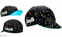 Cinelli Caleido Spots Cotton Cycling Cap Vintage Retro Fixie Made in Italy