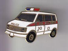 RARE PINS PIN'S ..  POLICE CAMION TRUCK GMC  SWAT TEAM LA BAIE QUEBEC CANADA ~EA