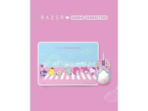 Razer Viper Hello Kitty I SANRIO Pink Exclusive Mouse Wired Mouse and Pad Combo