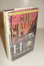 H is for Homicide by Sue Grafton UK 1st/1st 1991 MacMillan Hardcover