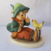 M I Hummel Goebel SINGING LESSON Rare Porcelain Figurine Germany Mold 63 TMK 6 7