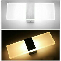10 X LED Wall Light Up Down Cube Outdoor Indoor Sconce Lighting Lamp Fixture US