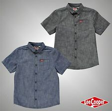 Lee Cooper Short Sleeve Casual Shirts (2-16 Years) for Boys