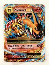 New Listing�� M Mega Charizard Ex holo �� 13/100 full art Xy Evo Ultra Rare card Pokemon �