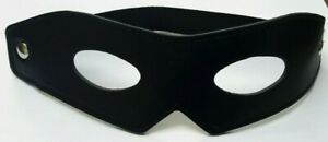 Brand New 100% Real Leather Deluxe ZORRO Mask