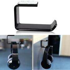 Headphone Stand Hanger Clever Holder Hook New Dual Headset Under Desk Mount Tape