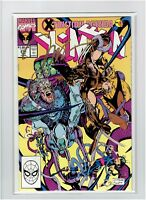 Uncanny X-men #271 signed Jim Lee