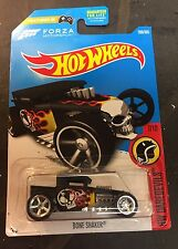 Hot Wheels 2017  Bone Shaker CUSTOM Super with Real Riders