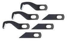 3x Overlockmesser für Gritzner 788 Overlock