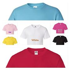 50 Custom Personalized printed T-shirts 1 Color Design Family reunion promotiona