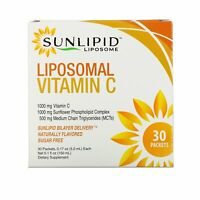 Liposomal Vitamin C, Naturally Flavored, 30 Packets, 0.17 oz (5.0 ml) Each