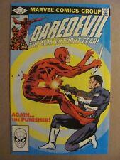 Daredevil #183 Marvel 1964 Series Bullseye Punisher app Frank Miller 9.0 VF/NM