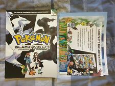 Pokemon Black & White - The Official Strategy Guide Volume 1 - Poster Included