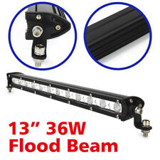 """13""""36W LED WorkLight Bar Flood Beam Cree 4X4 4WD Offroad Truck Driving Light 12V"""