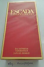 Escada Margaretha Ley 100ml/ 3.4oz Perfume Eau de Parfum Spray Sealed Box Rare