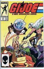 G.I. Joe A Real American Hero 1982 series # 59 near mint comic book