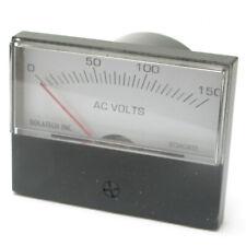 Panel Meter, 0 - 150 AC Volt Meter. 75 x 58mm