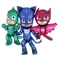 "50"" PJ Masks Catboy Gecko Owlette Airwalker Giant Foil Balloon Party Decoration"