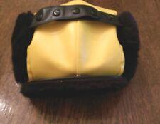 Trooper Hat, Yellow / Black, Deolon/Pile, Size L (7-1/4), NEW, Langenberg, USA