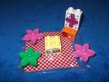 Lego Duplo Ville 3 X Motivstein Stein Picknick Decke Blumen 10833 NEU Spielplatz