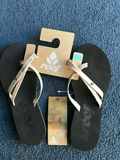 Reef O'Contrare LX Womens Flip Flops Gold - US 5/6 UK 3/4 - 25% OFF!!