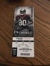 2017 HOUSTON TEXANS VS ARIZONA CARDINALS NFL TICKET STUB 11/19