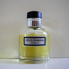 Dolce & Gabbana Pour Homme After Shave 2.5 oz / 75ml - Not Full - NO Box - ITALY
