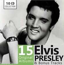 ELVIS PRESLEY / 15 ORIGINAL ALBUMS  - 10 CD BOXSET * NEW & SEALED *  NEU *