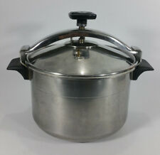 SEB Stainless Steel 10 L / 10.56 Qt Pressure Cooker Made in France Missing Valve